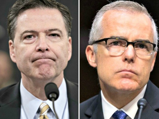 Revealed: McCabe Pushed to Highlight Trump 'Golden Shower' Rumor in Public Russia Report — and Comey Approved
