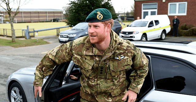 Military Losing Respect for Prince Harry, 'Disgusted at Disrespect to Queen'