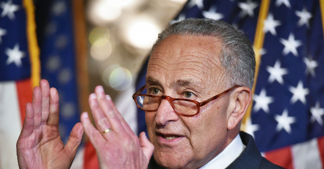 Schumer: Trump's Tweet About Me and Pelosi 'Makes Enacting a War Powers Act So Important' | Breitbart