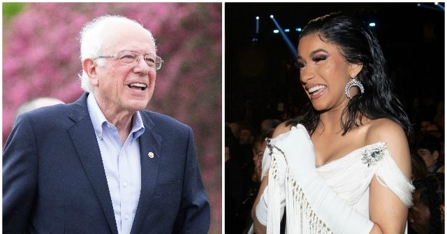 Bernie Sanders Says Congresswoman Cardi B Would Be Great for America