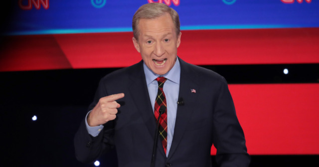 Tom Steyer at Dem Debate: Trump Has No Foreign Policy Strategy