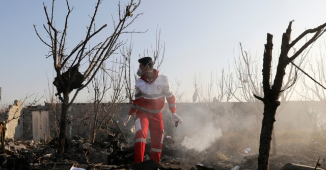 Iranian Officials Speculate U.S. 'Enemy Sabotage' Took Down Plane