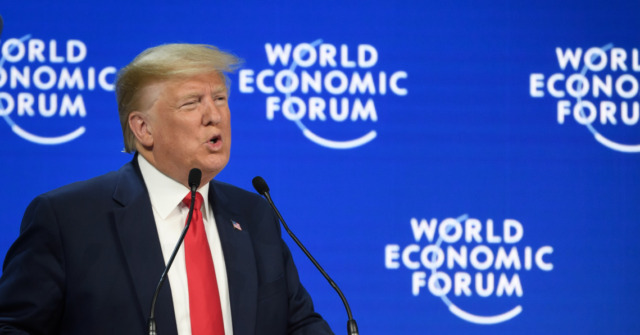 Trump at Davos: Looking Forward to 'Tremendous New Deal With The UK'