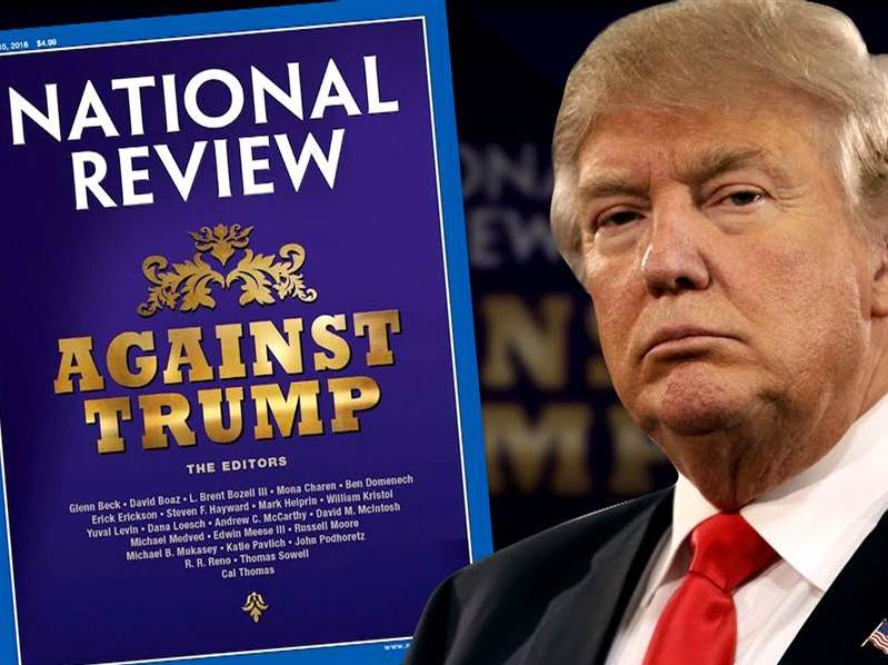 Never Trump: National Review Backs Democrats on Crime and Impeachment   Breitbart