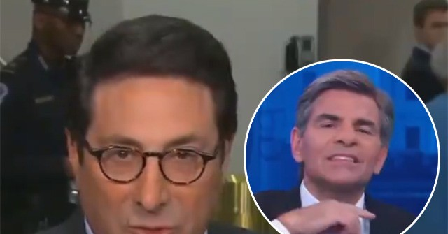 George Stephanopoulos Makes Throat-Slitting Gesture to Cut Away from Trump Lawyer