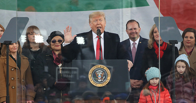 Donald Trump at March for Life: 'Every Child Is a Sacred Gift from God'