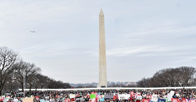 PHOTOS: Massive Crowd at 2020 March for Life Calls for End to Abortion