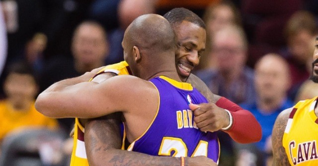 WATCH: Lebron James in Tears Over Kobe Bryant's Death