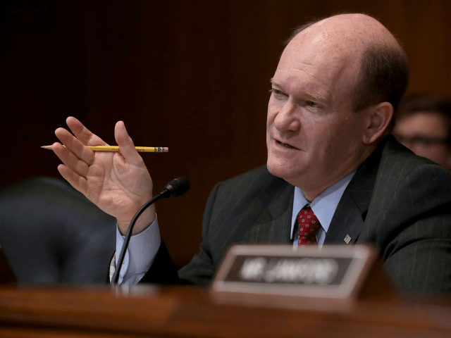 Dem Sen. Coons: 'Hypothetically' Trump Could Be Impeached for 'Hateful, Racist' Tweets