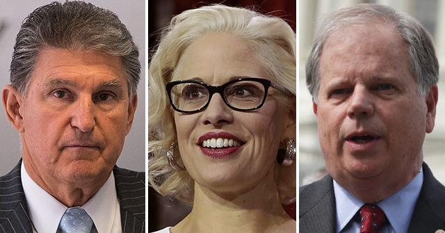 Impeachment Report: Dems Manchin, Jones, Sinema May Vote to Acquit Trump