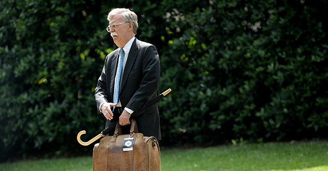 WH Tells John Bolton Not to Publish Book Until Classified Info Removed