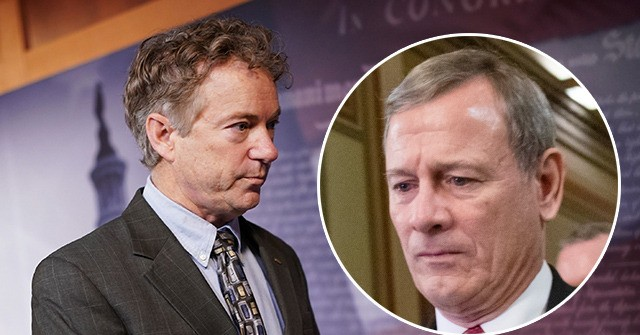 Rand Paul Reveals Impeachment Question Censored by John Roberts