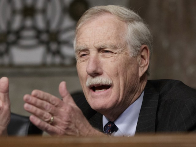 Sen. Angus King: Without Witnesses Trump 'Can't Say He Was Exonerated'