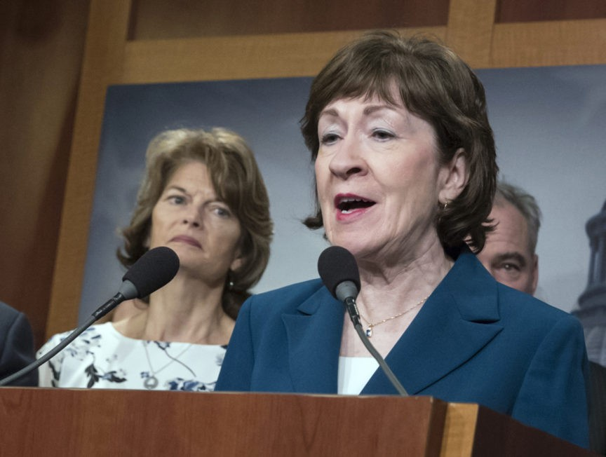 Susan Collins Comes Out in Favor of Senate Impeachment Witnesses