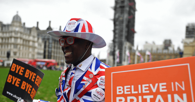 Happy Brexit Day!: Campaigners Celebrate Leaving EU After 47 Years