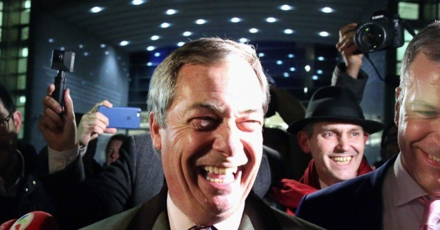 Farage Speaks to Breitbart: Brexit a Historic Day For the Western World