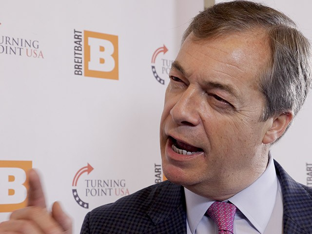 Nigel Farage: 'Brexit Would Not Have Happened Without Breitbart'