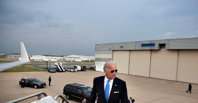 Joe Biden Spent More than a Million Dollars on Private Jets at End of 2019