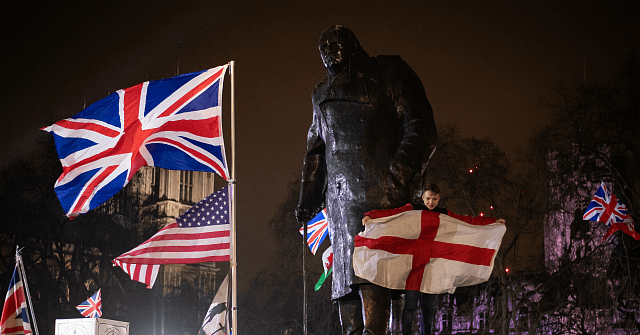 WATCH: Britons Celebrate Brexit and Future Alliance with Trump's America