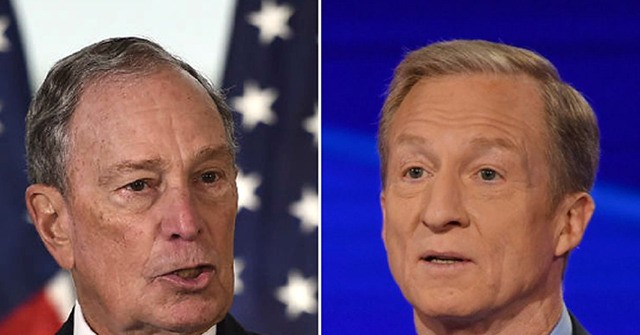 Billionaire Dems Bloomberg, Steyer Spend $340 Million in Fourth Quarter