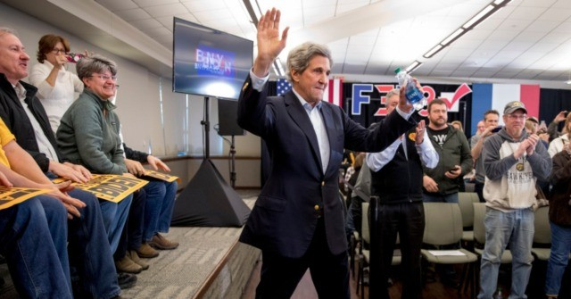John Kerry Endorses Biden to Fight Against 'AR-16 with Long Clip'