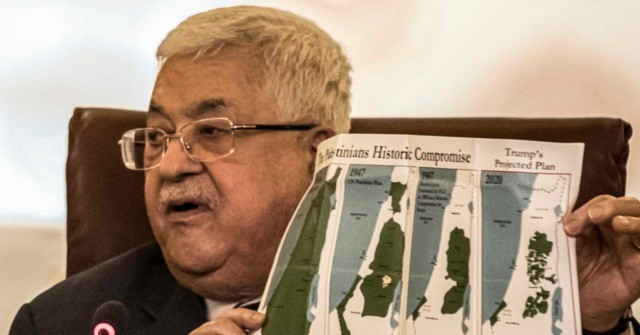 Abbas Cutting Ties with U.S., Israel over Peace Deal