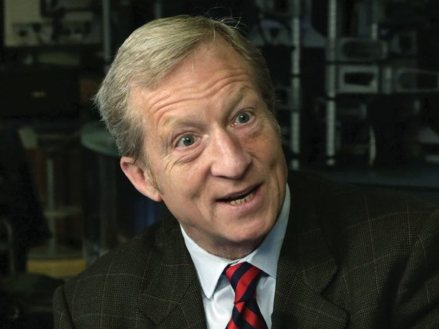 Tom Steyer: Trump 'Is a Racist, He Hates Most Americans'