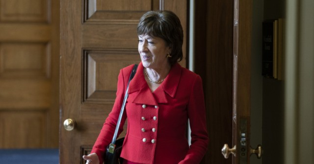 Swing GOP Vote Collins: 'I Will Vote to Acquit' Trump in Impeachment Trial