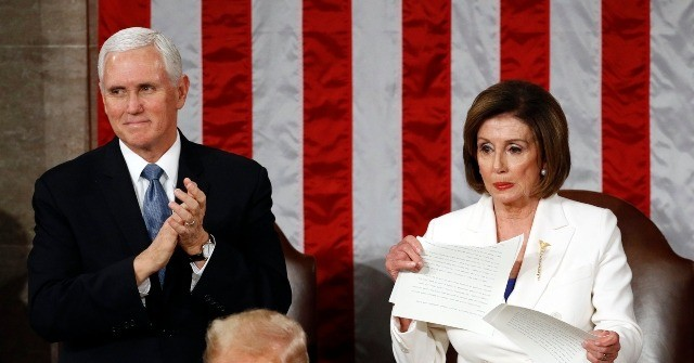 Rep. Jody Hice: Pelosi Tearing SOTU Speech Is 'Ripping up the Desires, the Wishes, the Aspirations of the American People'