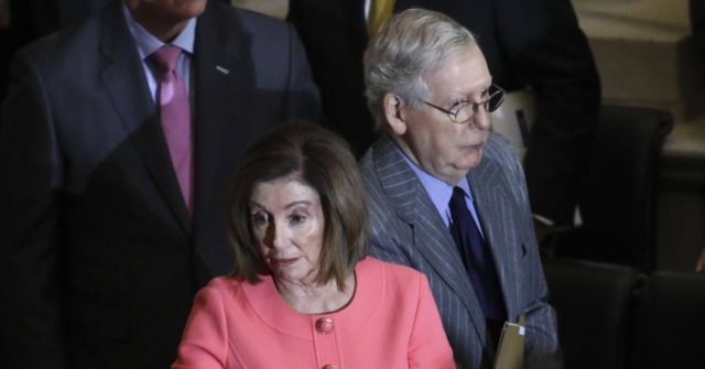 Nancy Pelosi Lashes Out at Mitch McConnell: 'Rogue Leader'; 'Cowardly'