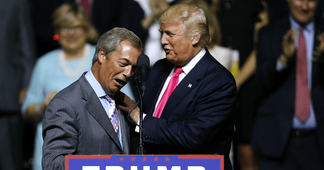 Farage Meets Trump at White House: 'Great Things Ahead'