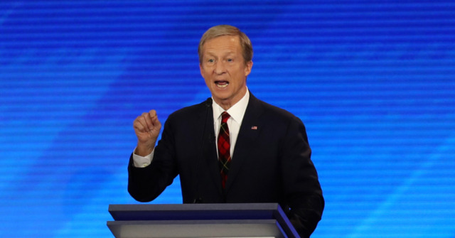 Tom Steyer Takes Aim at Democrat Field: 'We're in Trouble'