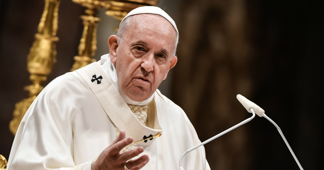 Pope Francis Denounces 'Plague' of Human Trafficking