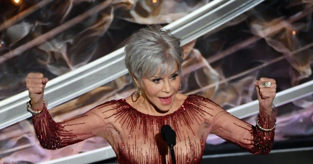 Jane Fonda Recycles Old Gown for Oscars to Fight Climate Change