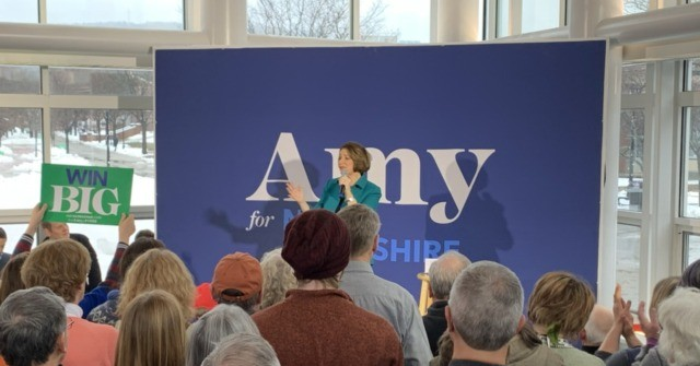Amy Klobuchar Makes Her Pitch to New Hampshire Voters: 'Decency'
