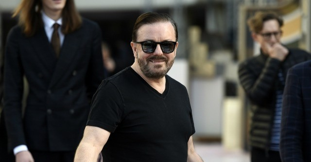 Ricky Gervais Mocks Joaquin Phoenix Lecturing 'Everyday, Hard Working People: 'It Has the Opposite Effect'
