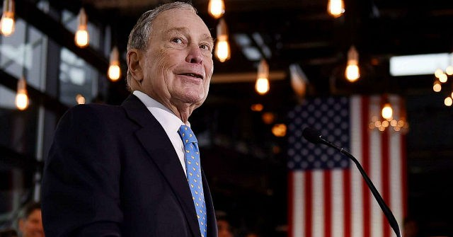 Poll: Bloomberg Surpasses Warren, Rises to Third Place Nationally