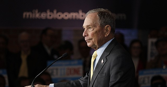 Audio–Mike Bloomberg Defends Police Targeting Minorities: 'Throw Them Against the Wall'