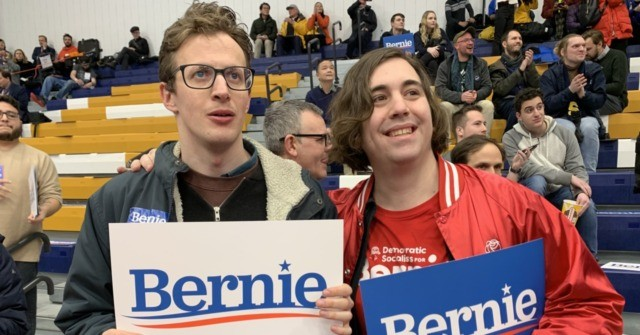 WATCH: Bernie Sanders Supporter Explains Democratic Socialism at New Hampshire Victory Rally