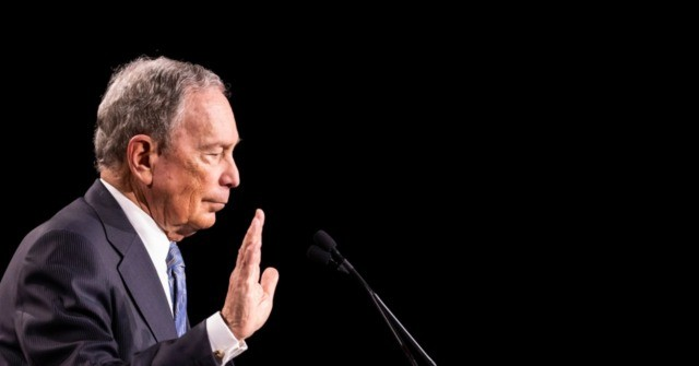 Watch: Protester Steals Mic at Political Rally for Michael Bloomberg
