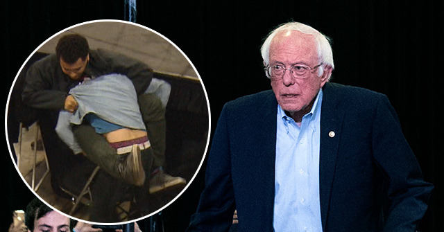Watch: 'Black Guns Matter' Shirt Causes Brawl at Bernie Sanders Rally