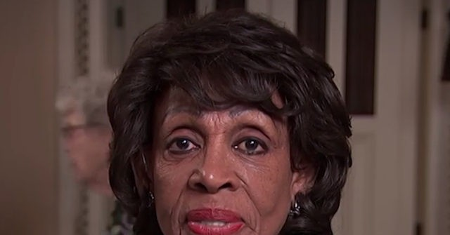 Maxine Waters: Americans 'Where Are You?' –