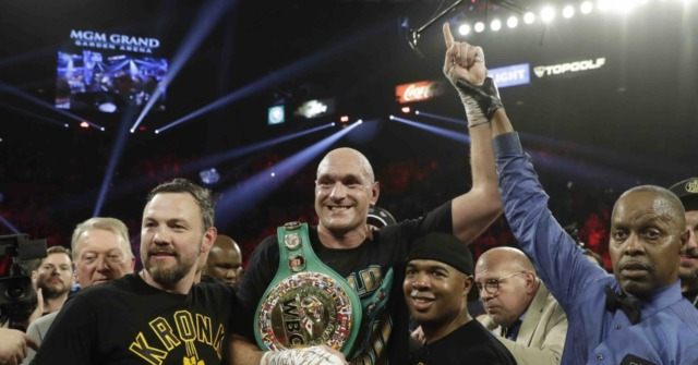 New Champ Tyson Fury Thanks God, Praises His Opponent After TKO