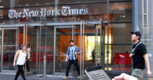 Trump Campaign Sues New York Times for Libel over Russia 'Conspiracy'