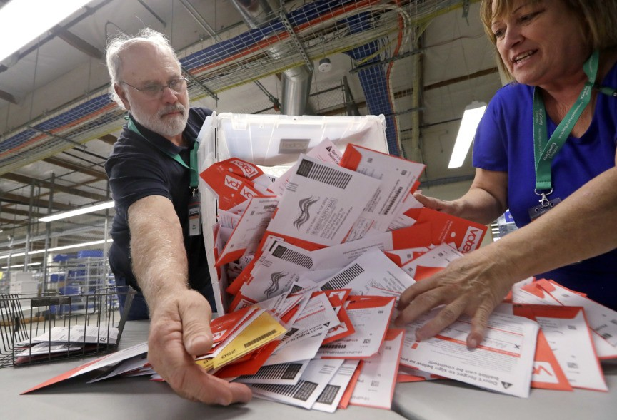 House Democrats Pushing for Mail-In Voting as Part of Next Stimulus