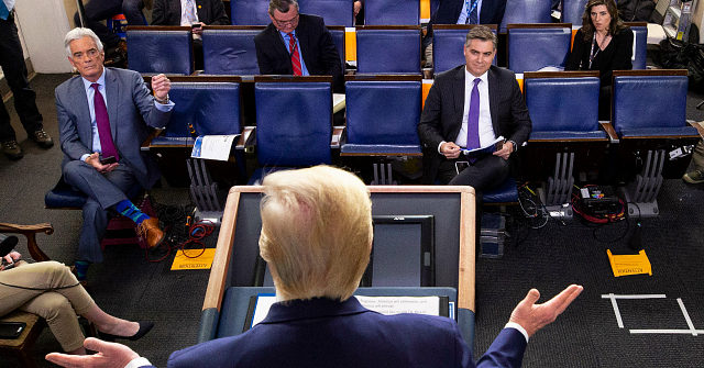 Trump Task Force Spends Nearly 20 Minutes Answering Jim Acosta