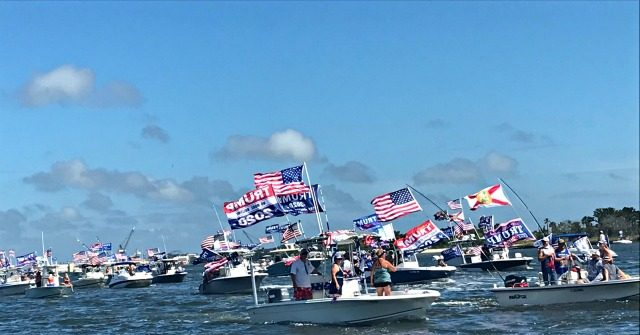 Hundreds Rally For Trump In Florida Boat Parade American Priority