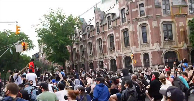 Watch: Hundreds Take a Knee for George Floyd in Brooklyn