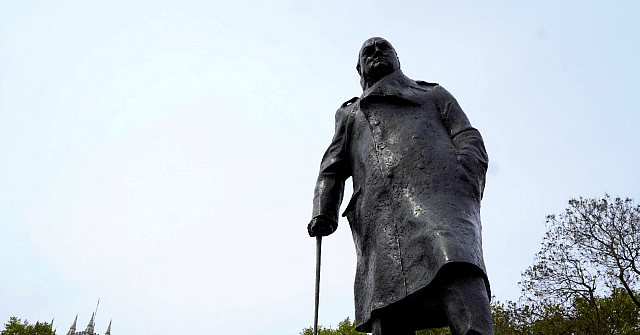 Churchill Statue Vandalised on D-Day Anniversary as BLM Protest Grows