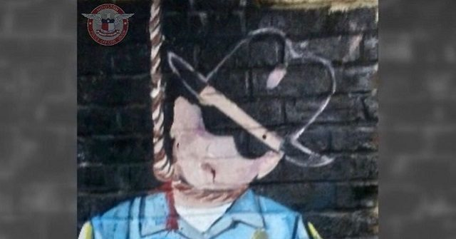 Mural of Cop Hanging from Noose Found in Houston, Says Police Union